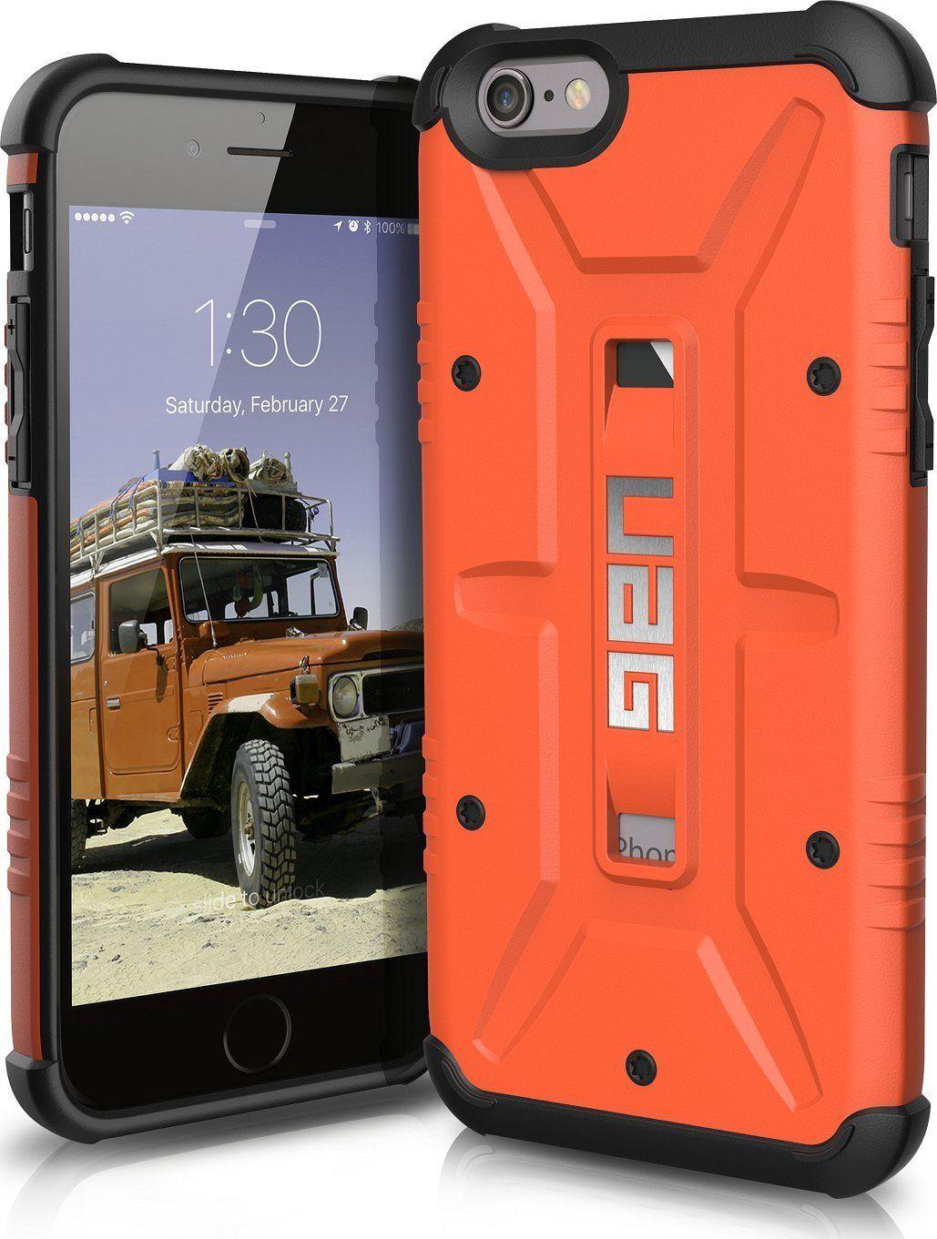 pretty nice c78f2 886d1 Amazon.com: UAG iPhone 6 / iPhone 6s Feather-Light Composite [RUST ...
