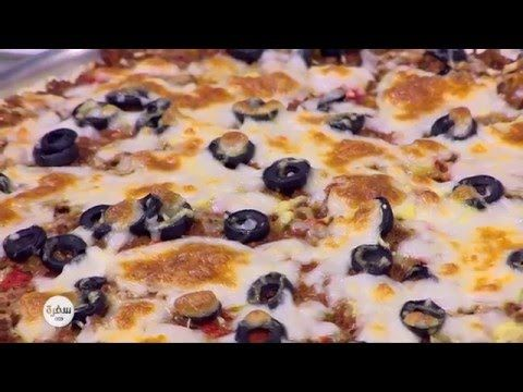 أرز البيتزا نجلاء الشرشابي Food Breakfast Oatmeal