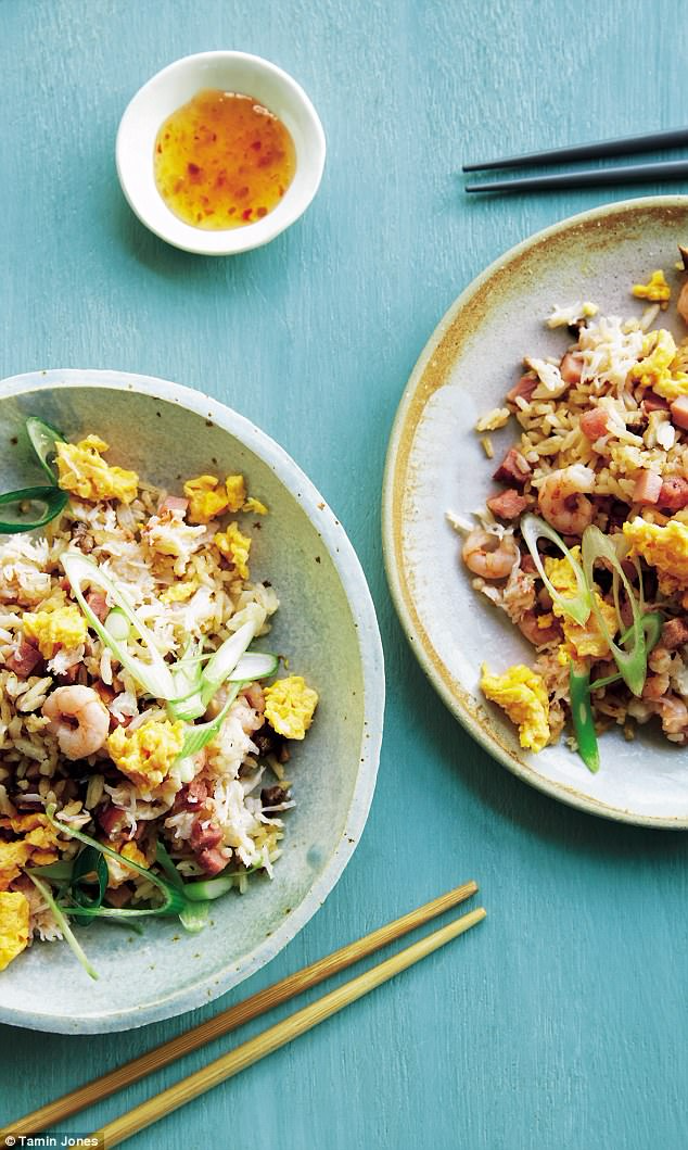 Ching He Huang S Healthy Fried Rice Recipe Delicious Healthy Recipes Recipes Healthy