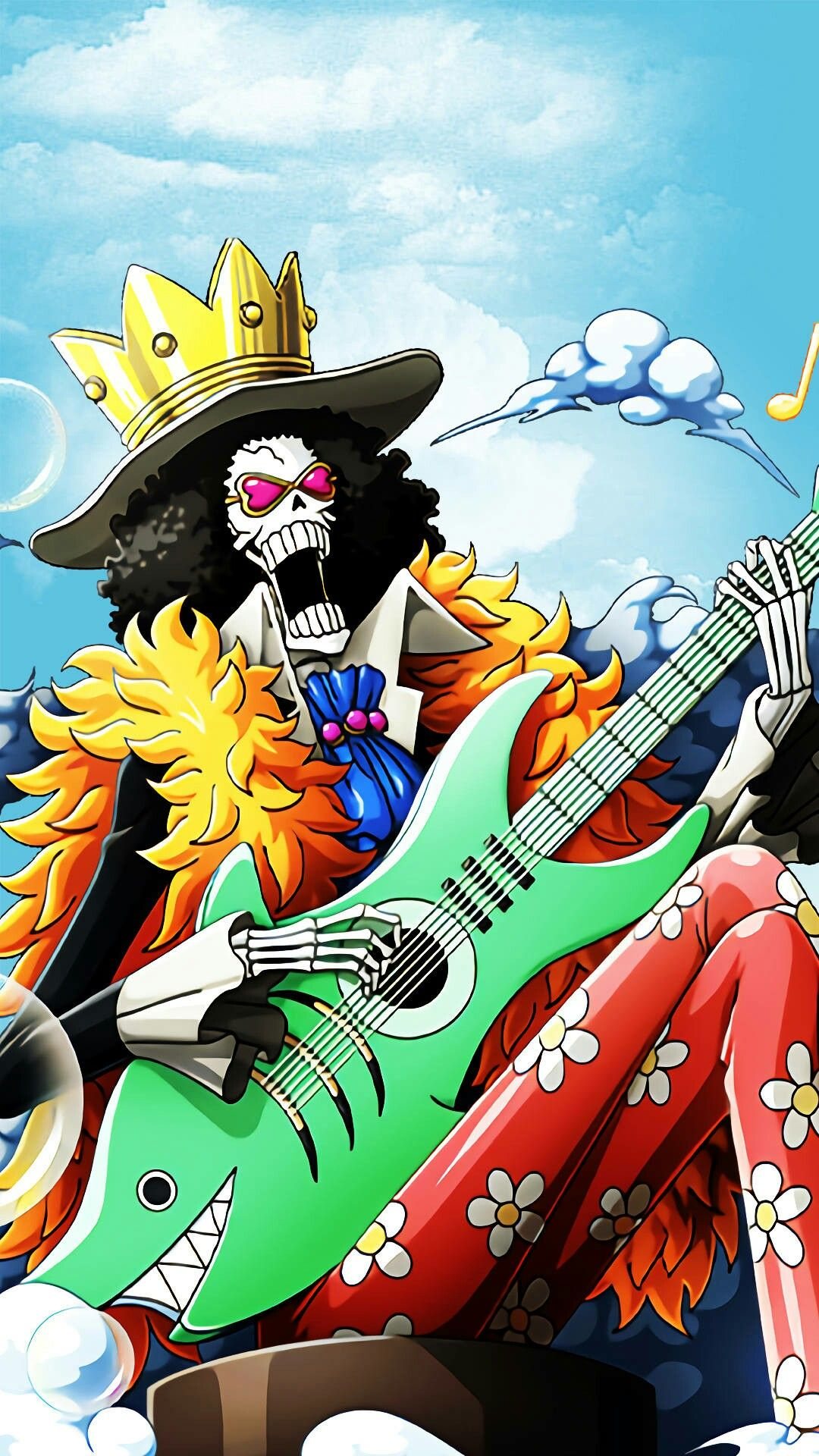 One Piece Brook Soul King Anime Top Wallpaper