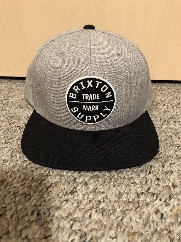 d52c91307cc9 Gray Snapback  fashion  clothing  shoes  accessories  mensaccessories  hats   ad (ebay link)