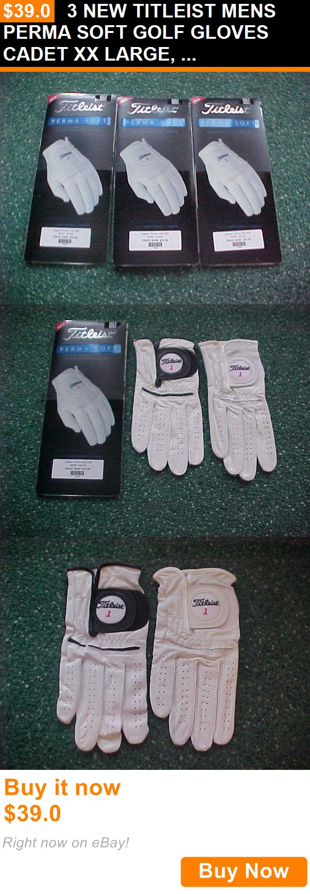 Mens gloves cadet - Golf Gloves 181146 3 New Titleist Mens Perma Soft Golf Gloves Cadet Xx Large Right Handed Man Buy It Now Only 39 0 Golf Gloves 181146 Pinterest
