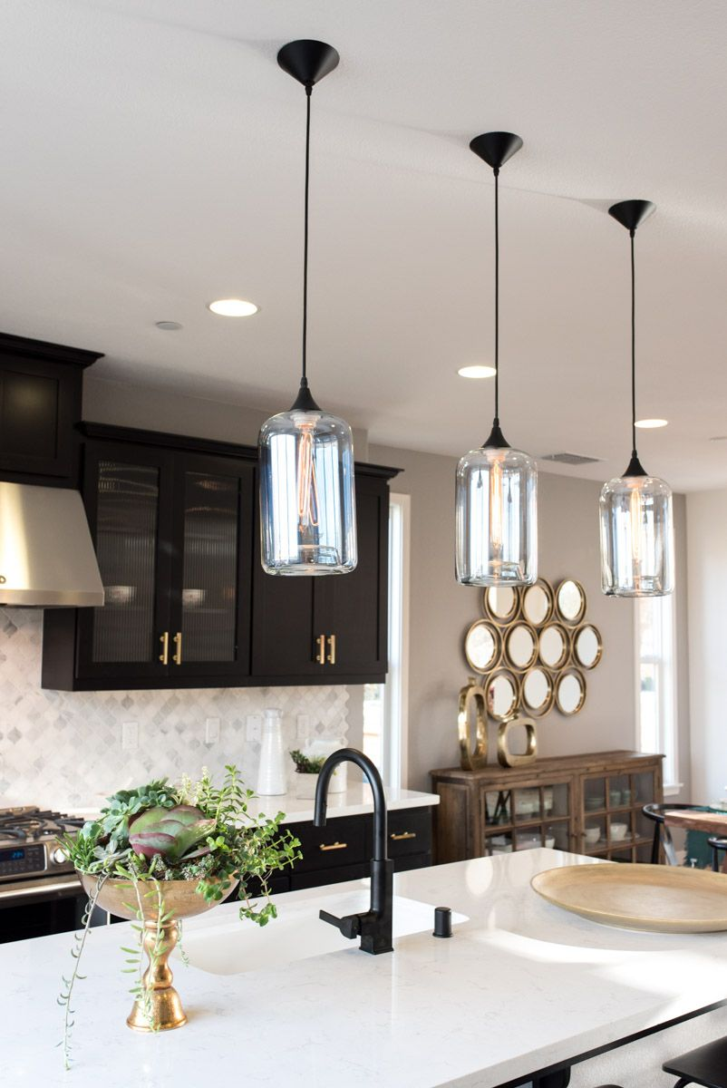 Furniture And Décor For The Modern Lifestyle Pinterest Gold - Black kitchen pendants
