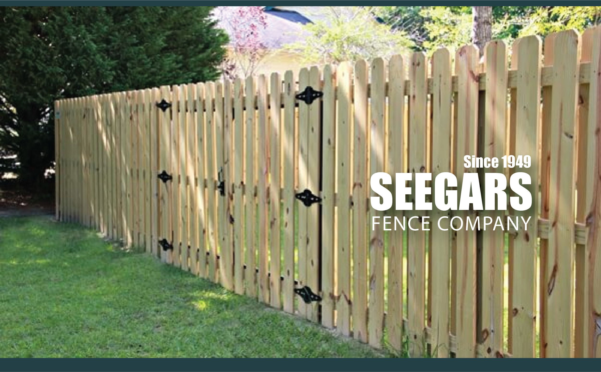 Pin On Seegars Fence Company