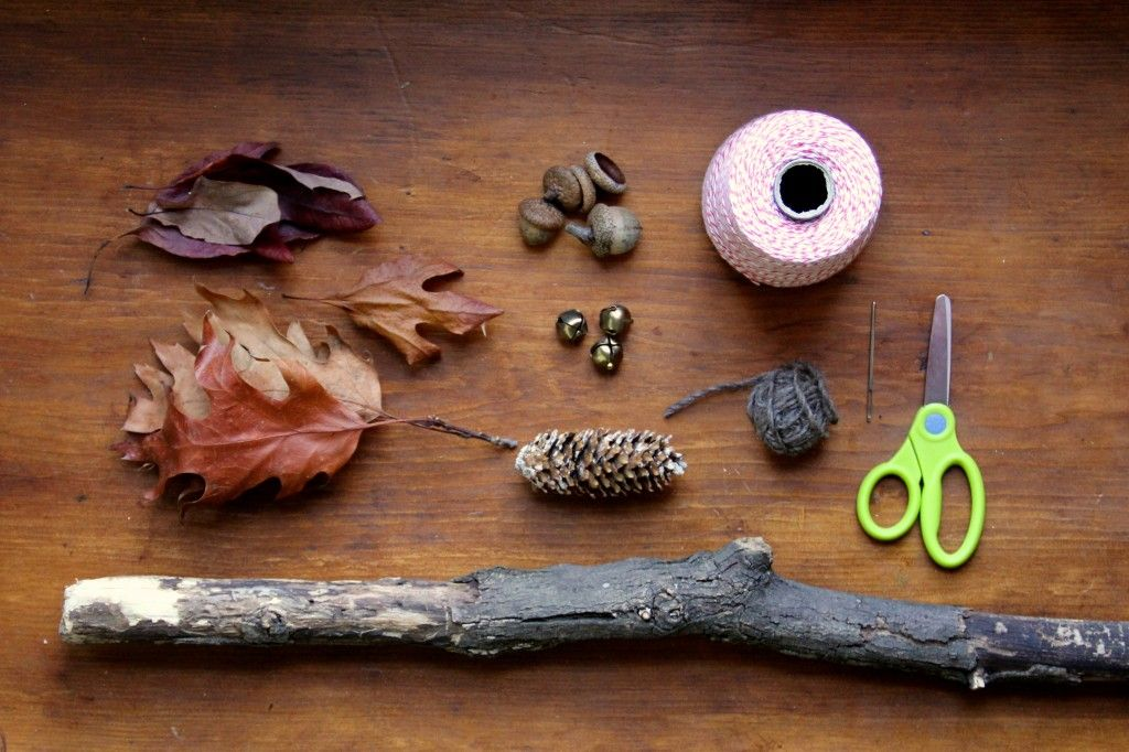 crafting a child's walking stick