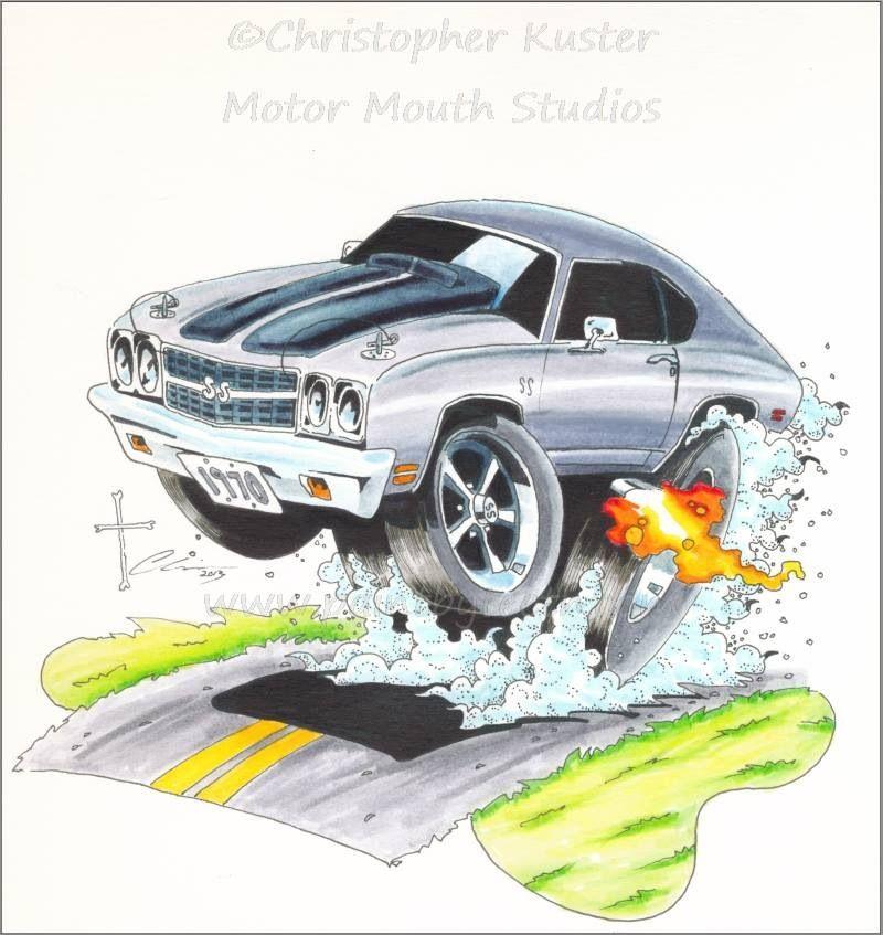 Car-toon | Car Art and Customs | Pinterest | Trazos, Dibujos de y Me ...