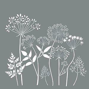 Wildflowers 18 Quot X18 Quot Stencils 5 Stencils Stencil Art