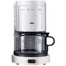 Braun KF33 Drip coffee maker, Coffee maker, Coffee
