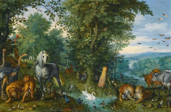 brueghel de velours jardin deden national gallery - Jardin D Eden