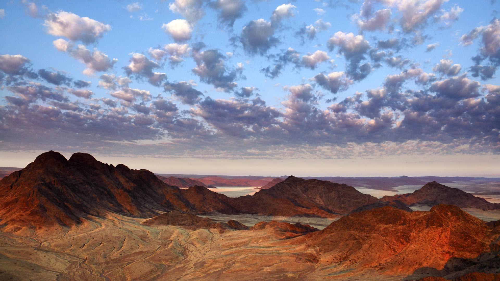 Beautiful Namibia Africa Hd Desert View