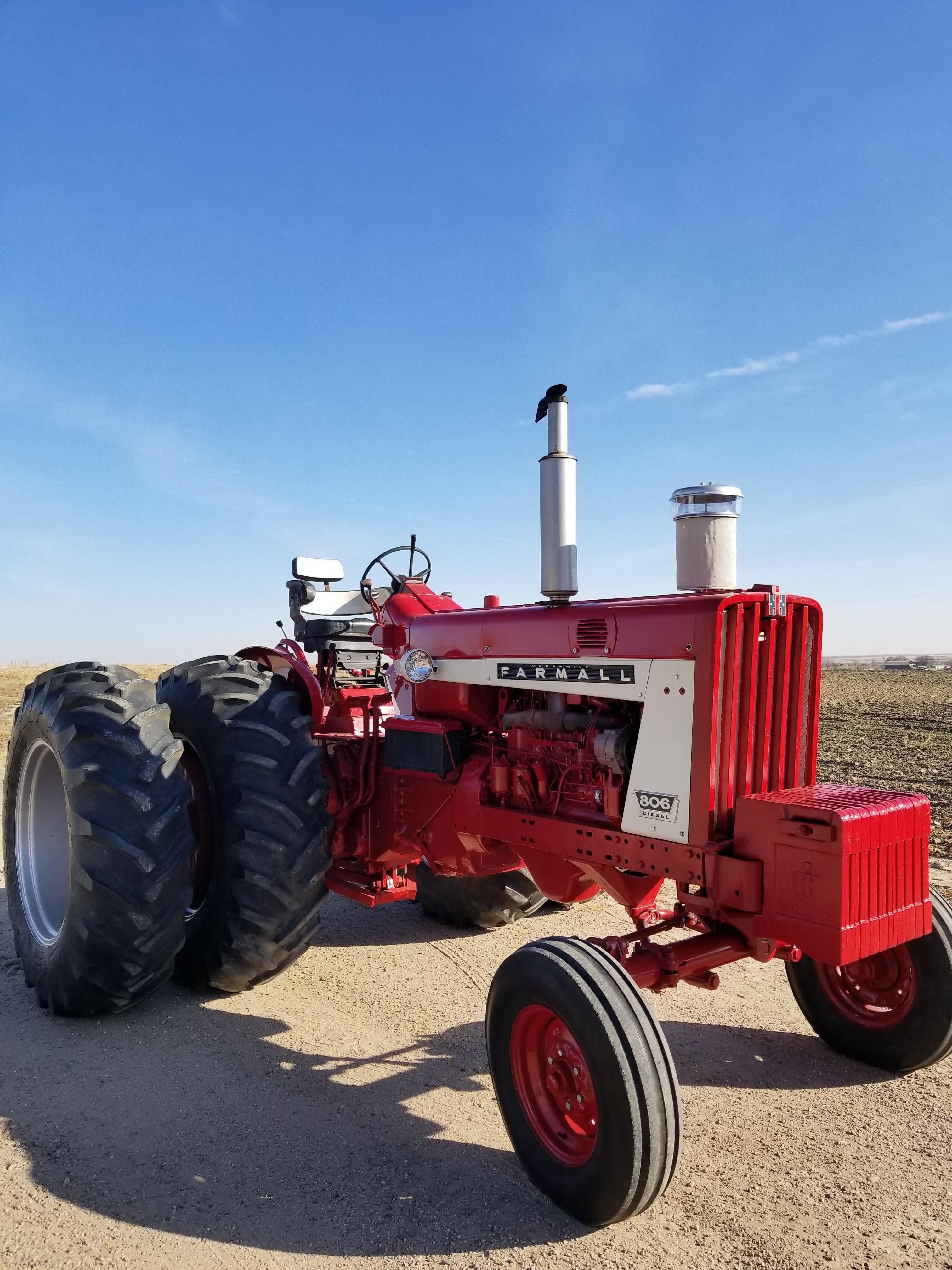 small resolution of a fully restored 1965 ih farmall diesel 806 ih tractors cool set also 806 farmall tractor wiring harness in addition 560 farmall