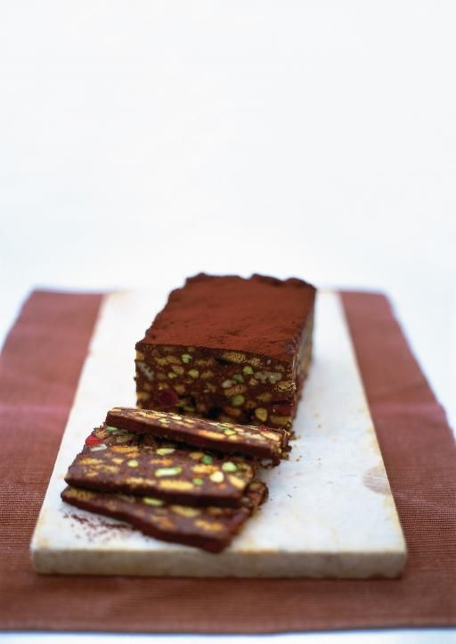 Chocolate Fridge Cake Jamie Oliver