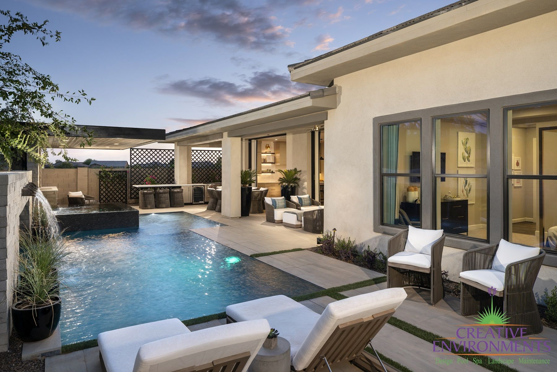 Legacy at Seville model homes in Gilbert, AZ. Model