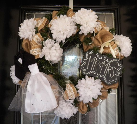553b5eaf4b8 Made to Order Burlap Wedding Decoration by OccasionsBoutique. Made to Order  Burlap Wedding Decoration by OccasionsBoutique Bridal Shower Wreaths ...