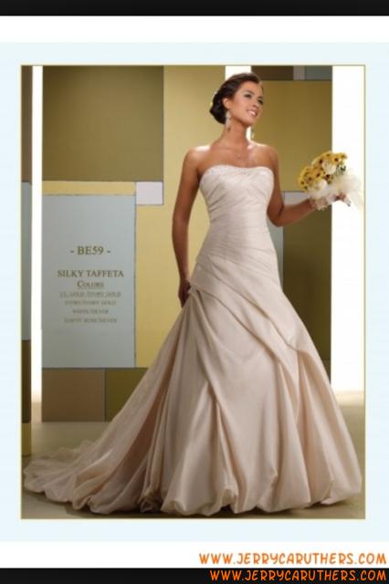 Elegante Dell Innamorato Sirena Bruidsjurk In Taffetà Unique Wedding