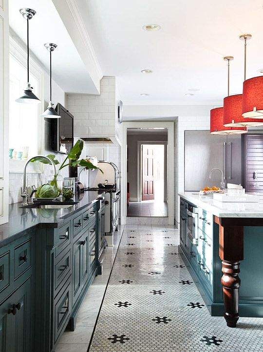 I Love The Color Combo Used In This Kitchen Kitchen Flooring Kitchen Colors Kitchen Inspirations