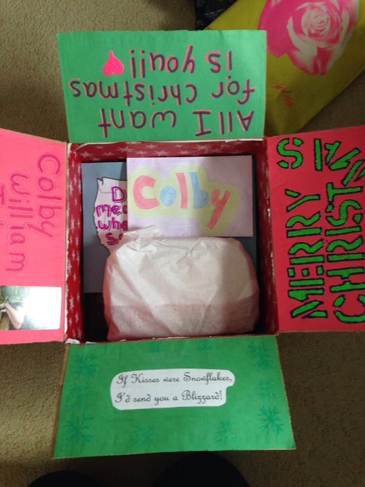 Long distance relationship care package ideas