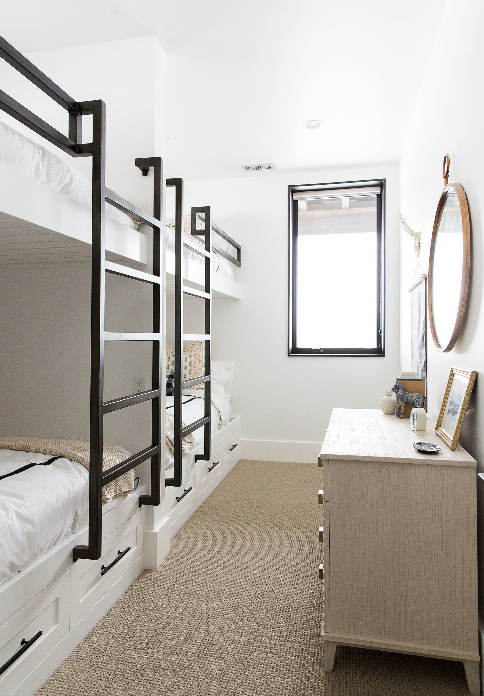 studio mcgee gives a utah mountain home a modern edge | bunk bed
