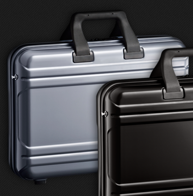 http://www.zerohalliburton.com/    ZERO Halliburton - Legendary Protection Since 1938,     For nearly seventy years, Zero Halliburton has defined strength, durability and style with our signature aluminum cases and lightweight luggage,