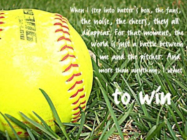 Senior Softball Quotes. QuotesGram