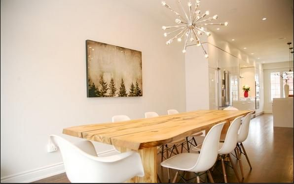mesa comedor madera rústica - Buscar con Google | Mesa salón ...