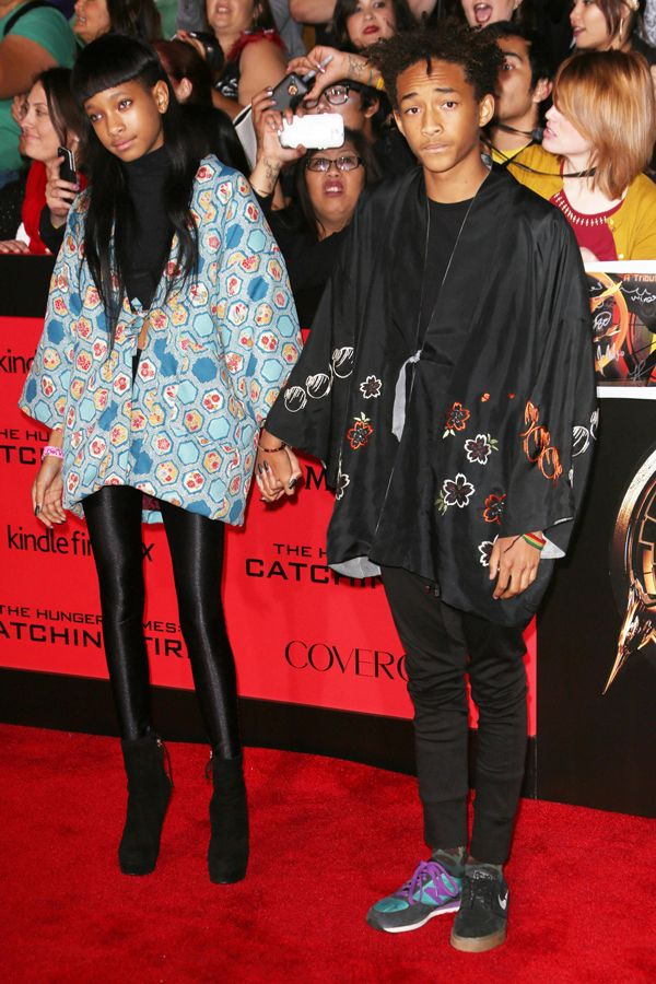 18 Brutal Pics Of  Celebrity Teen Angst #refinery29  http://www.refinery29.com/2014/08/73603/90s-fashion-red-carpet-photos#slide9  Willow and Jaden Smith guess they can show up to your party. If they have to.