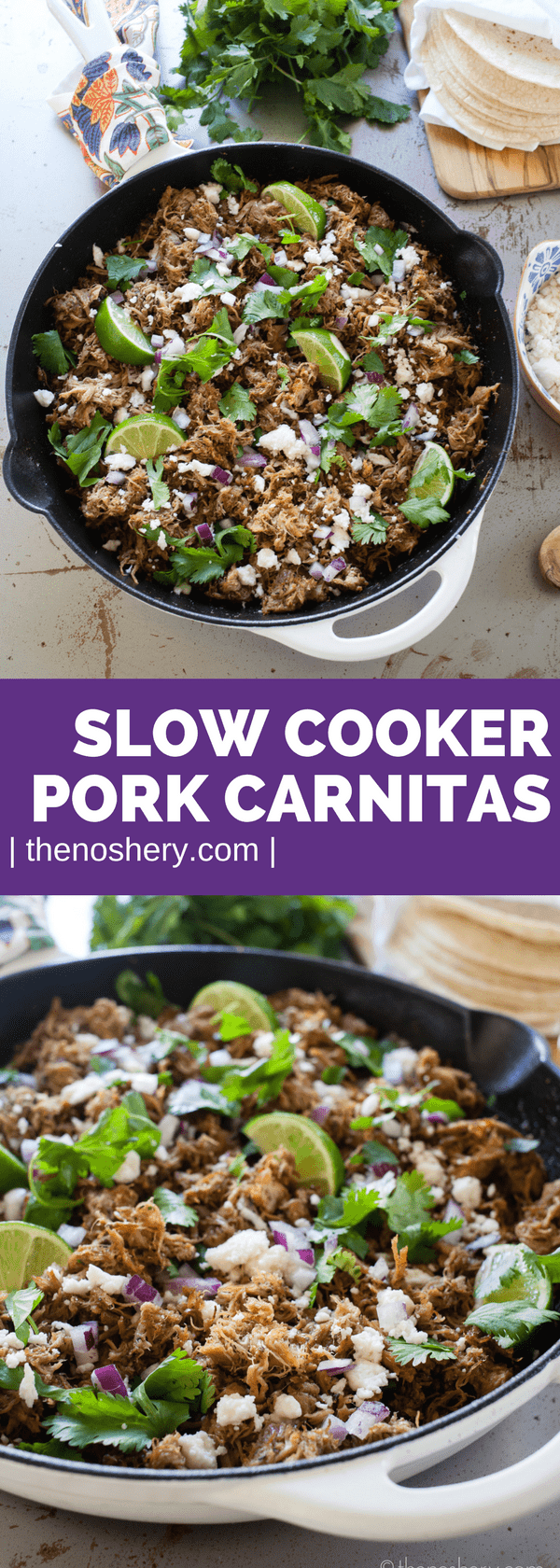 Slow Cooker Pork Carnitas | Make Taco Night Easy with the Slow Cooker