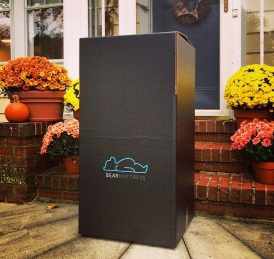 Bear Mattress Review Shipping Box