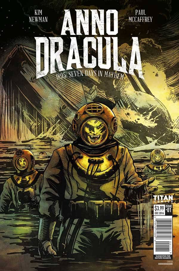 Check Out This First Look At The Graphic Novel Of Kim Newman S Anno Dracula Fangirlnation Magazine Dracula Graphic Novel Indie Comic