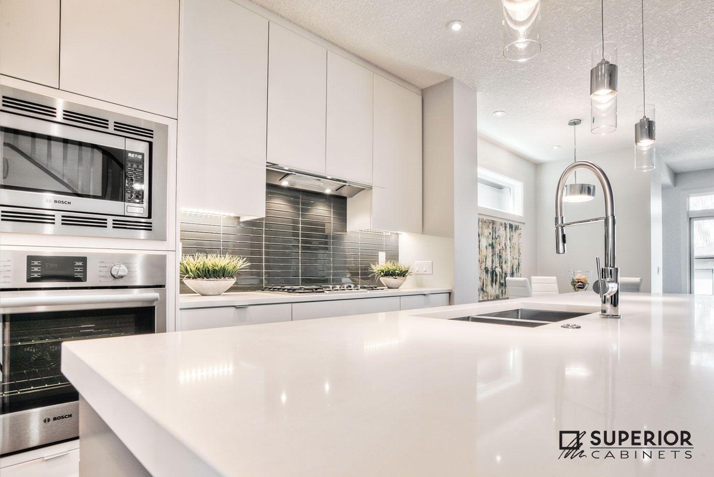 Designer: Jasmine Larre, Superior Cabinets Calgary; Builder: Treehouse  Developments Calgary; Finish