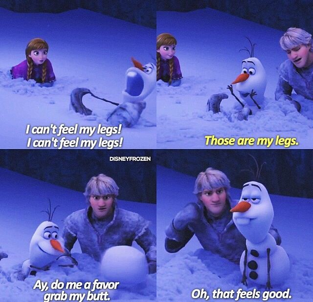 Olaf & Kristoff