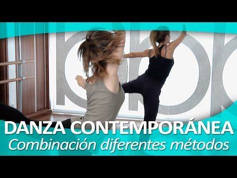 DANZA CONTEMPORÁNEA 14. Demostración final - YouTube