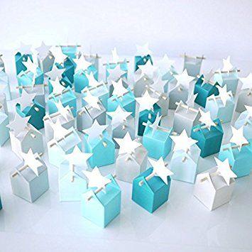 site autorisé 100% qualité garantie prix bas Kit Cumulus - Boîtes à dragées et étiquettes étoile ...