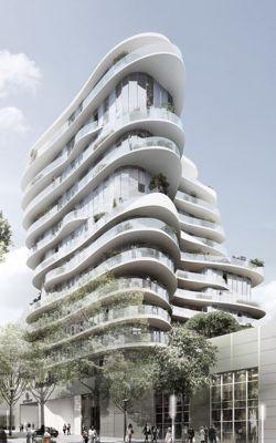 Voici Le Premier Immeuble Concu Par Un Architecte Chinois En