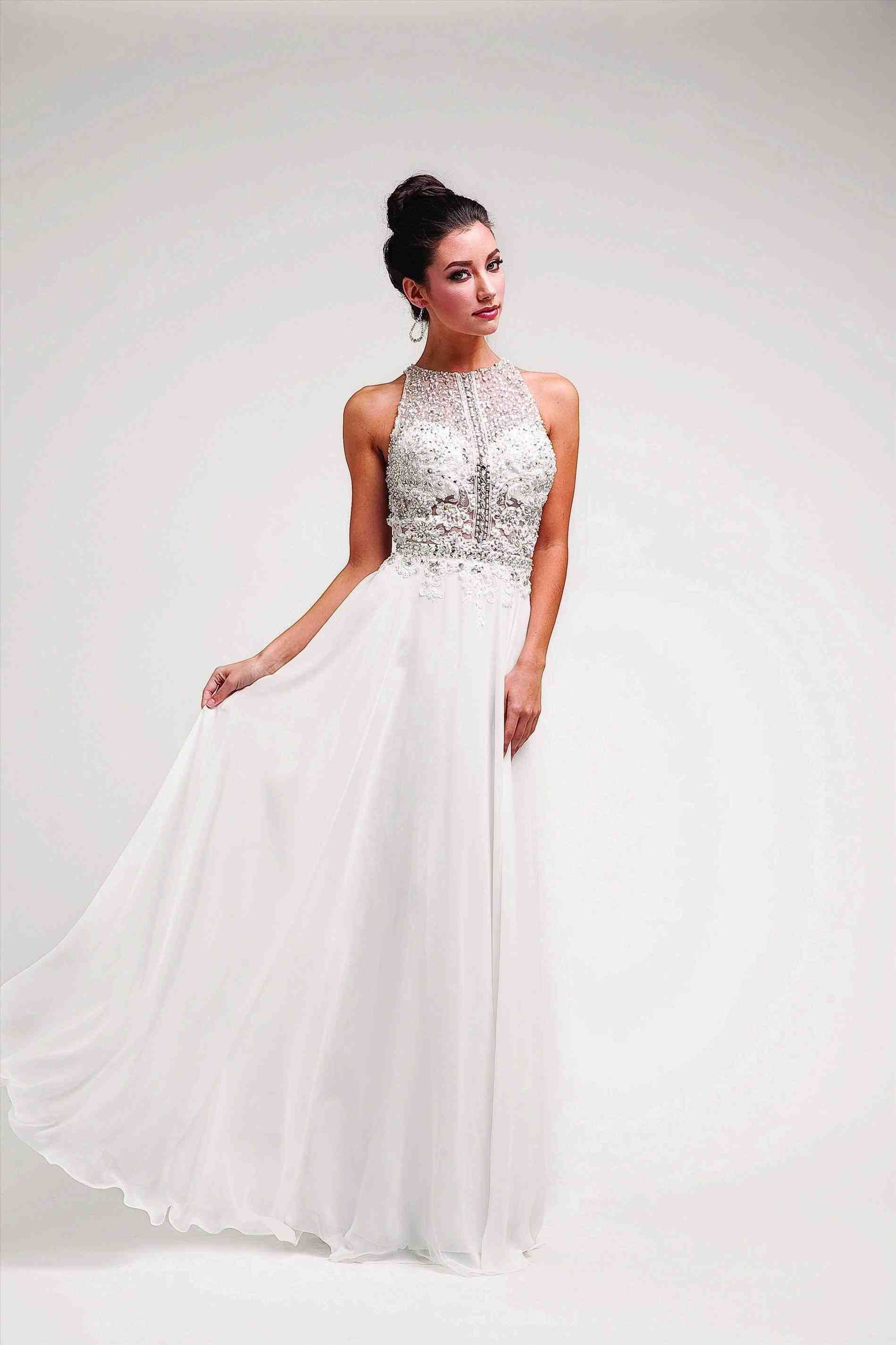 Long White Winter Formal Dresses White Tulle Sliver Sequins V Neck Long Halter Lace Up Wedding Dress Long Wi Formal Prom Dresses Long Formal Dresses Dresses [ 2849 x 1899 Pixel ]
