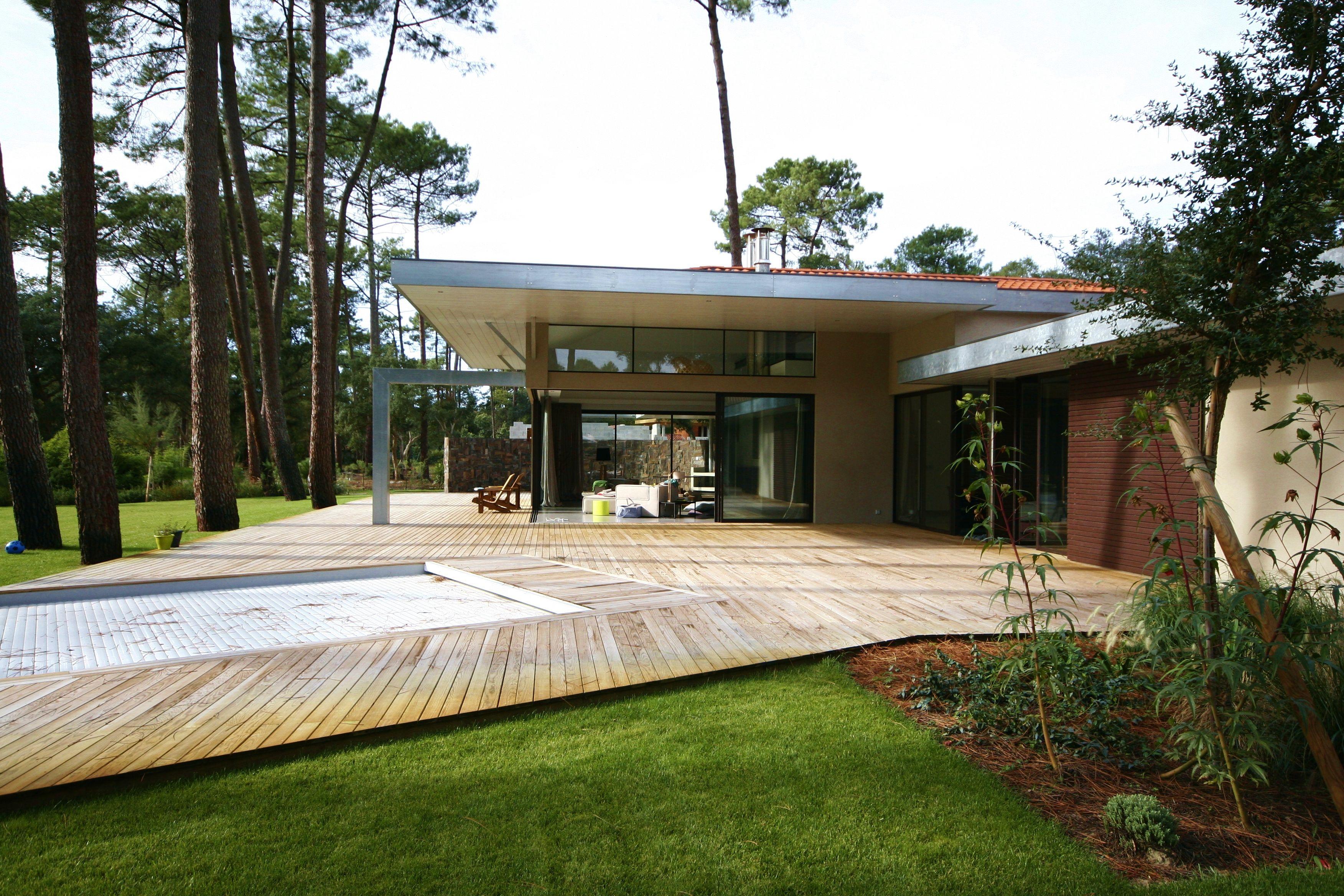 Architecture contemporaine Hossegor, Landes -Atelier Luc Germain | Architecture contemporaine ...