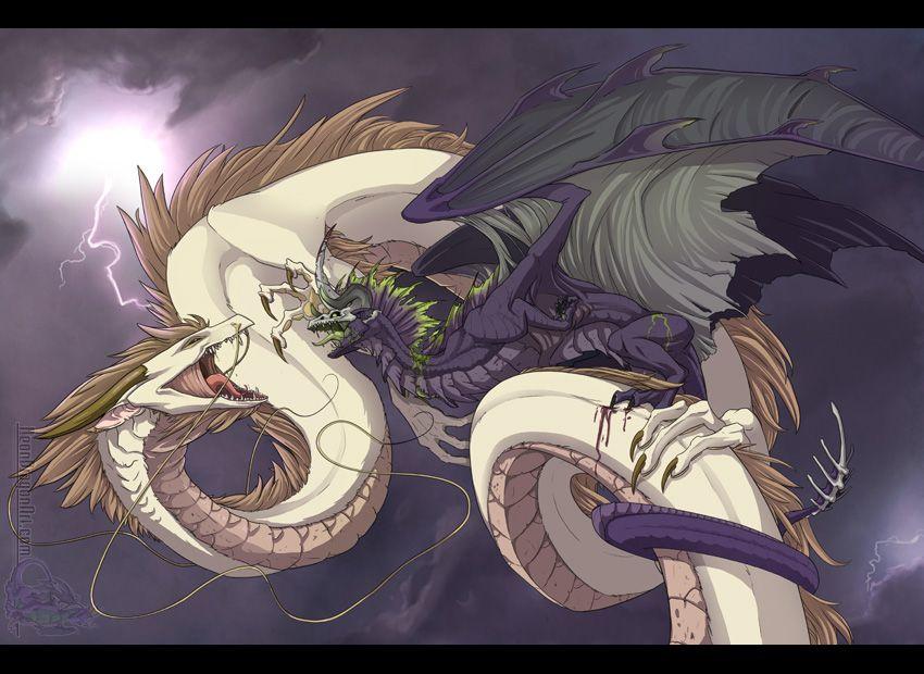 Fight for Life by ~neondragon on deviantART | Artsie: Dragon