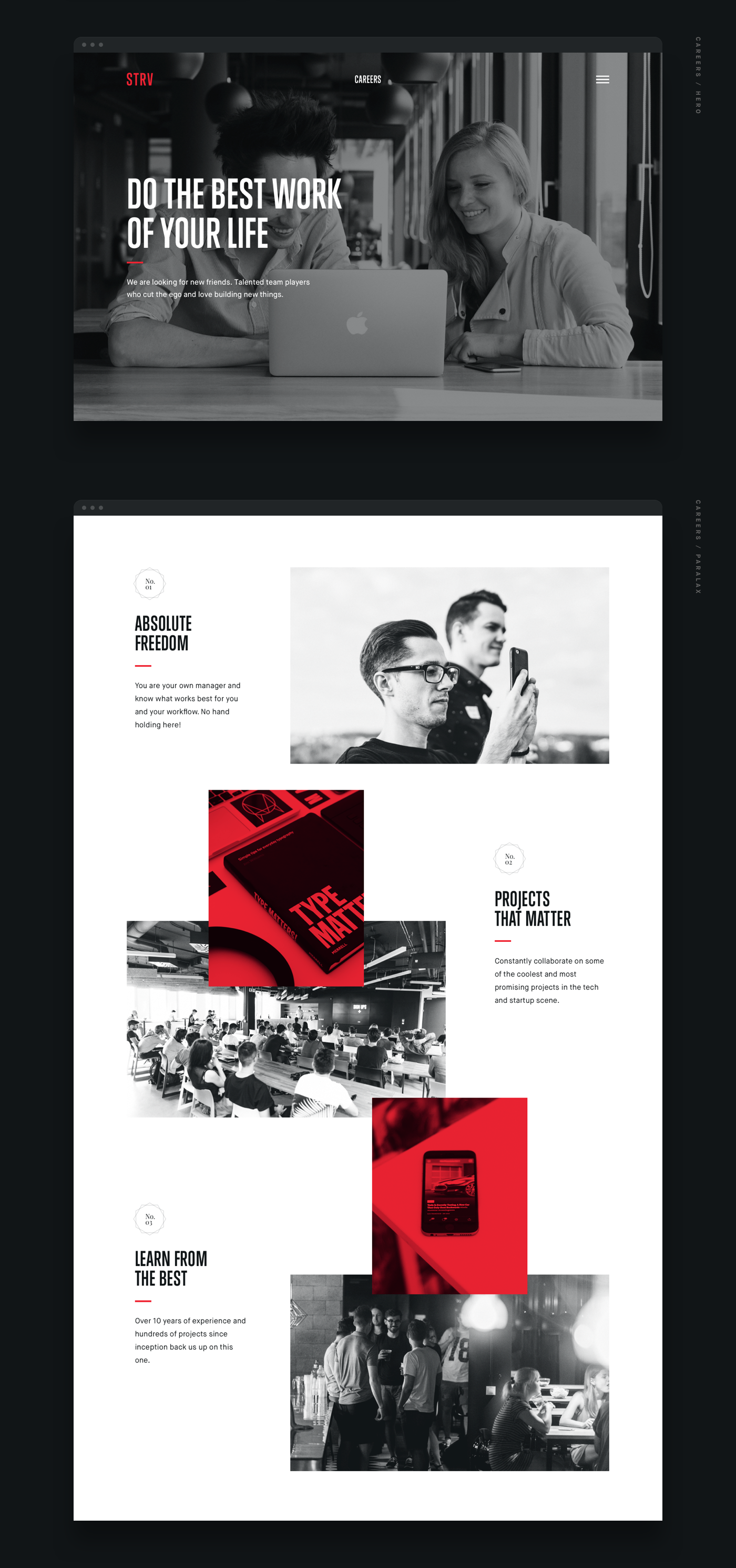 STRV is a development & design agency working with top
