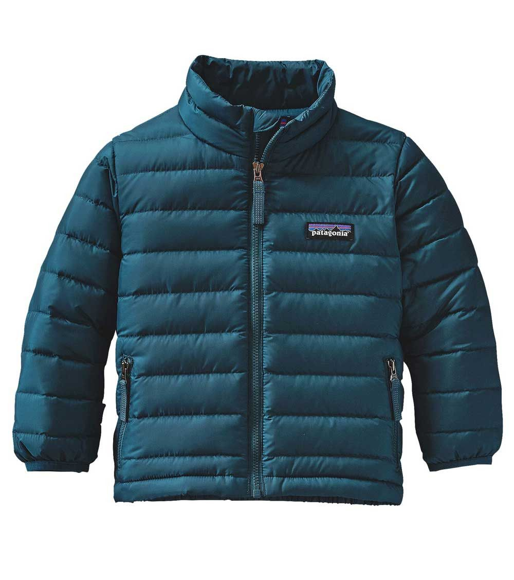 Patagonia Baby Down Sweater Jacket Deep Sea Blue Clothing