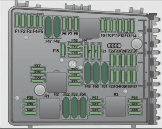 Audi A3 8P (2003 to 2013) - Fuse Box Location and Fuses List | Fuse box,  Audi, Audi a3Pinterest