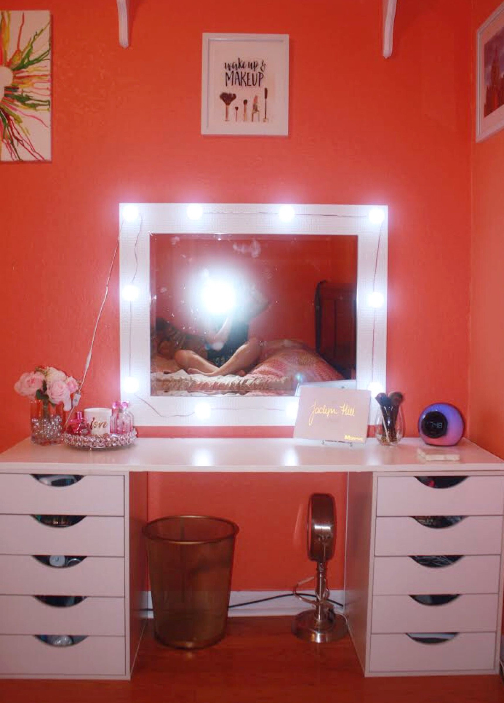 Pin By Sarah Schulman On Diy Vanitydesk - Pinterest -