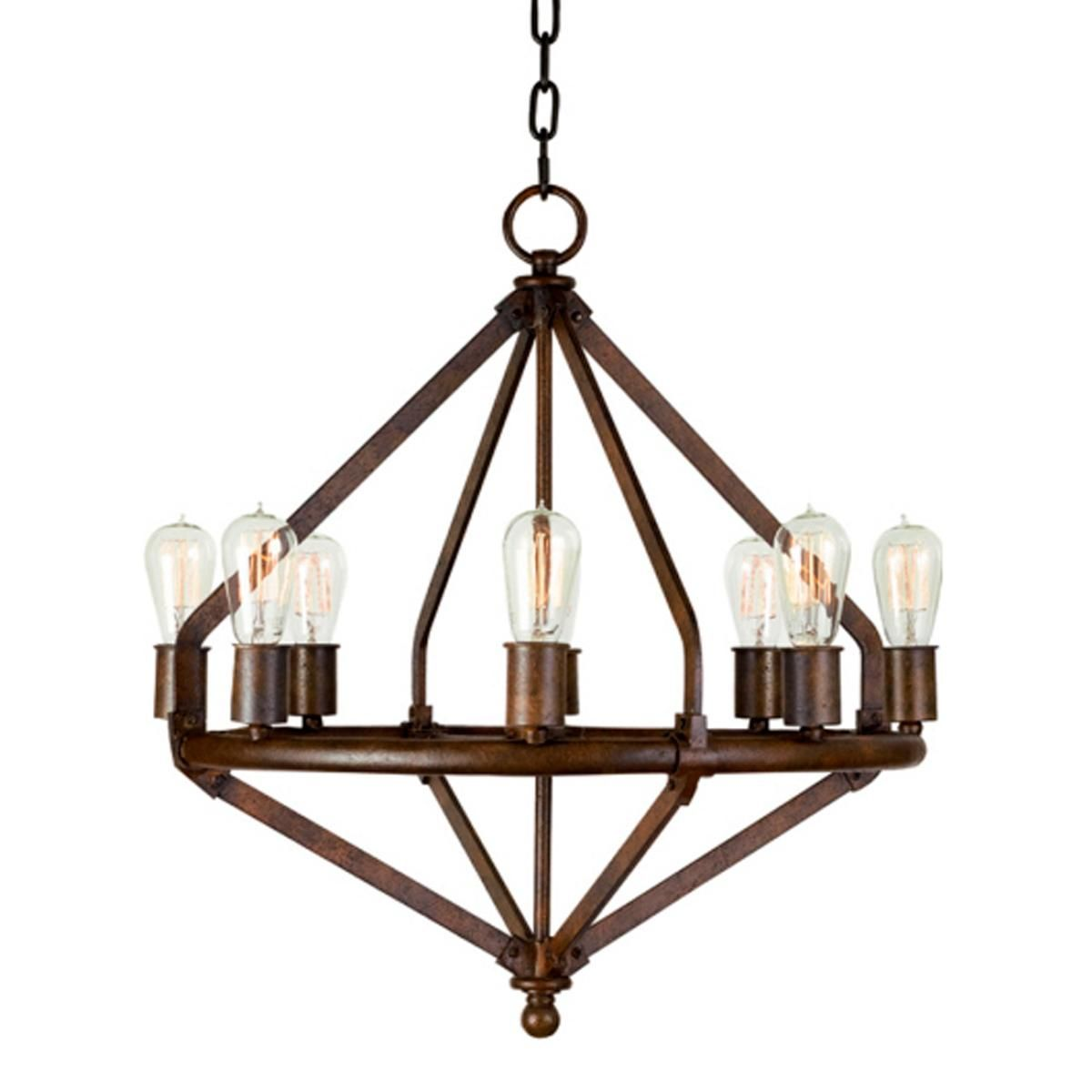 buy popular 579ed 8fe22 Lauren by Ralph Lauren Colton 8 Light Chandelier shades of ...