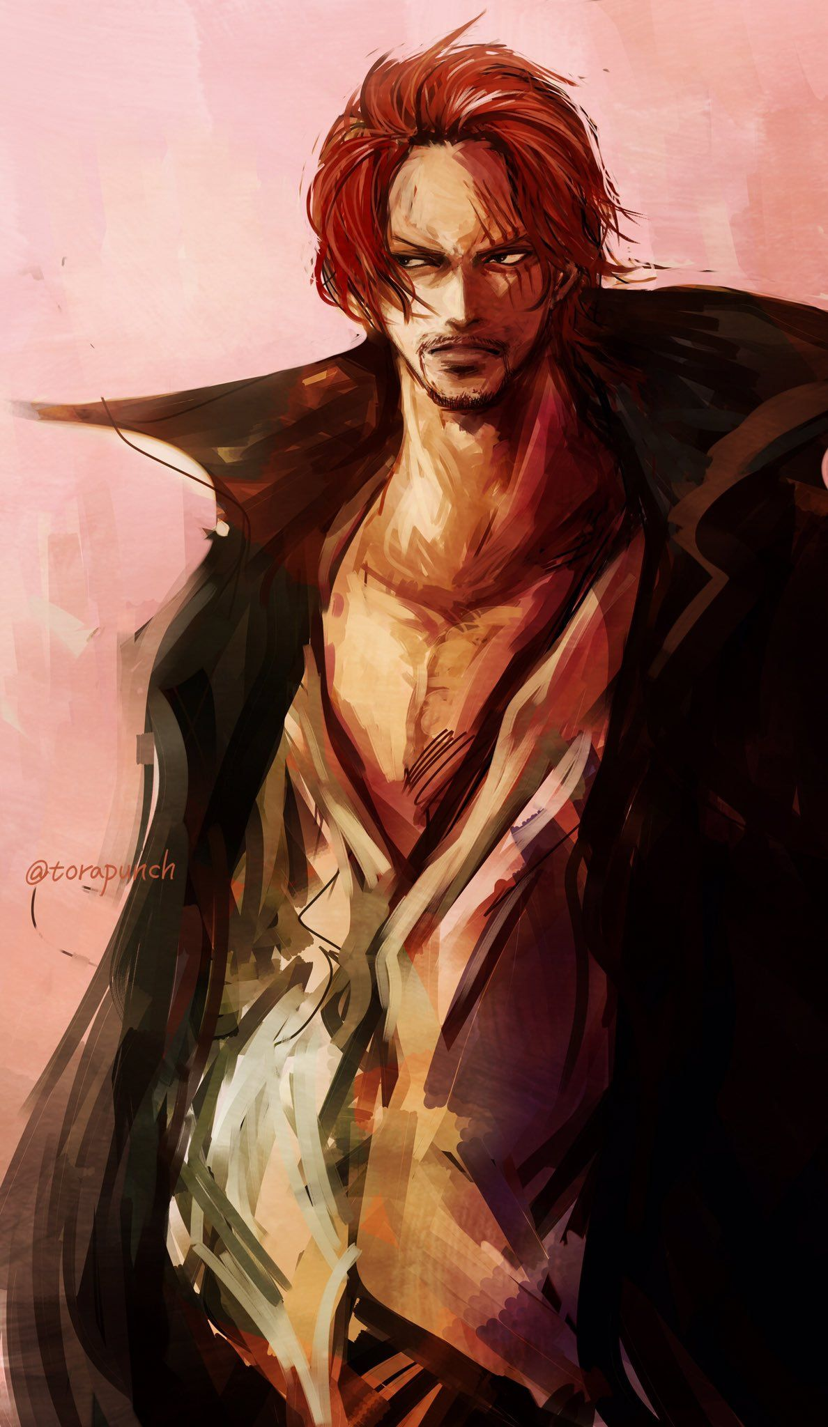 One Piece Shanks One Piece Anime Wallpapers Mobile Iphone