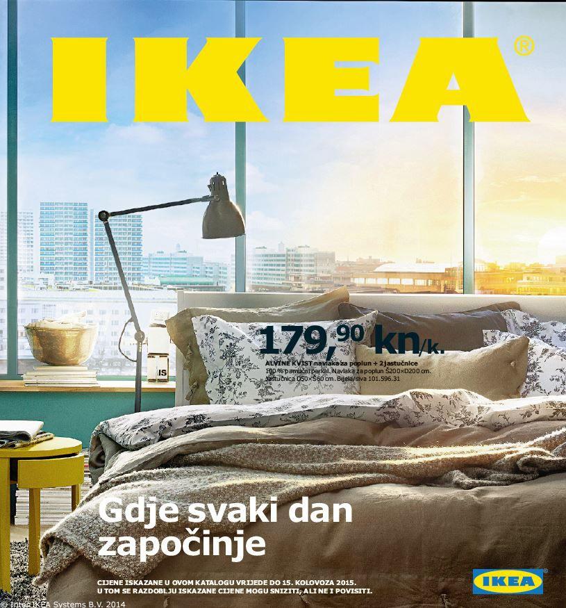 First Croatian Catalogue Front Page Ever Ikea Catalog Ikea 2015 Ikea