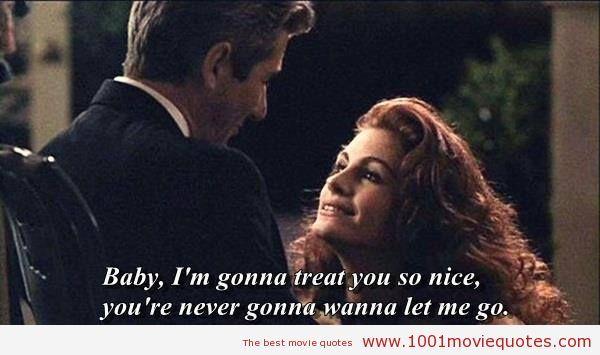 1001 Movie Quotes Pretty Woman Movie Pretty Woman Quotes Movie Quotes
