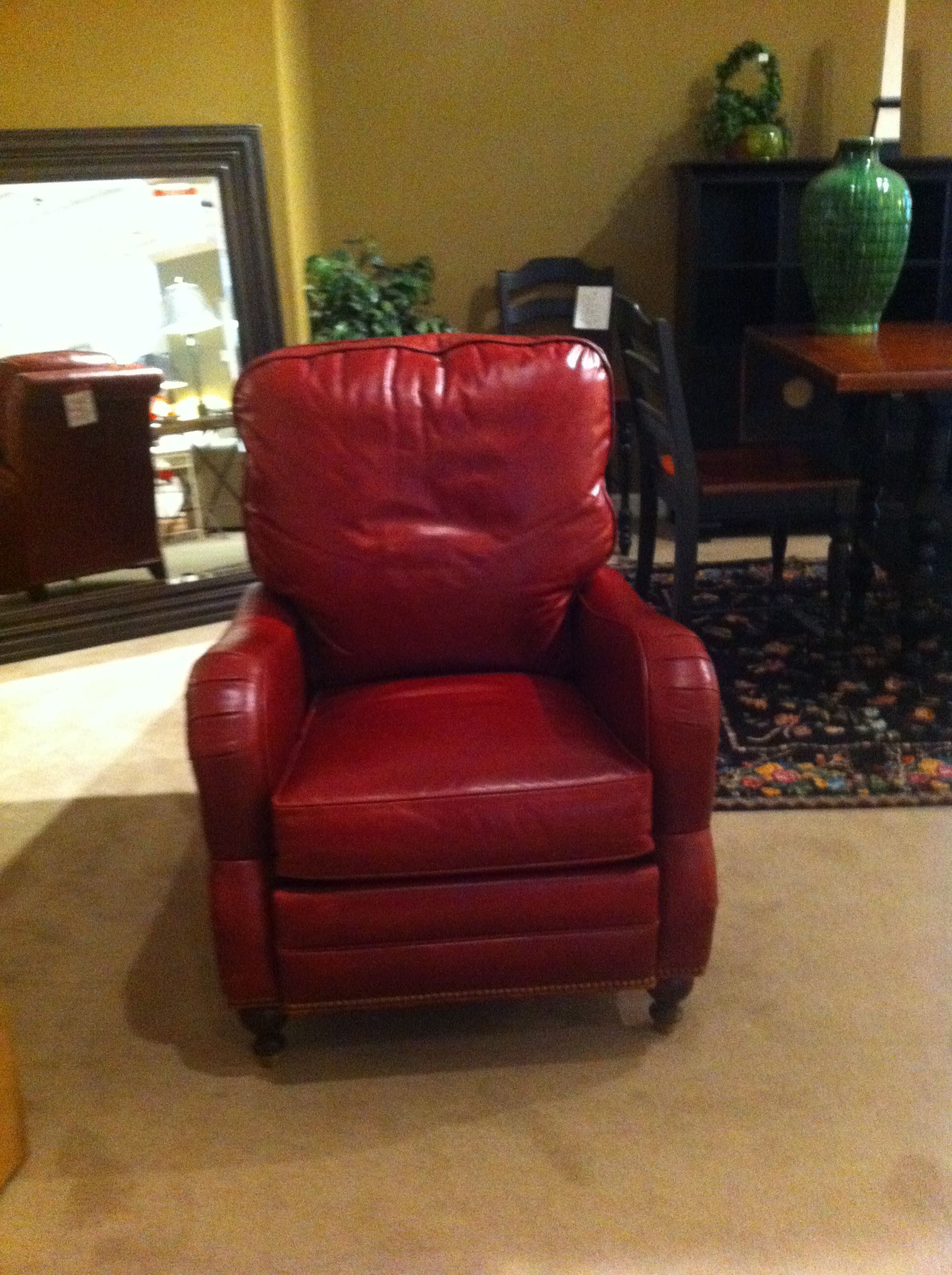 Great Leather Recliner By Motion Craft
