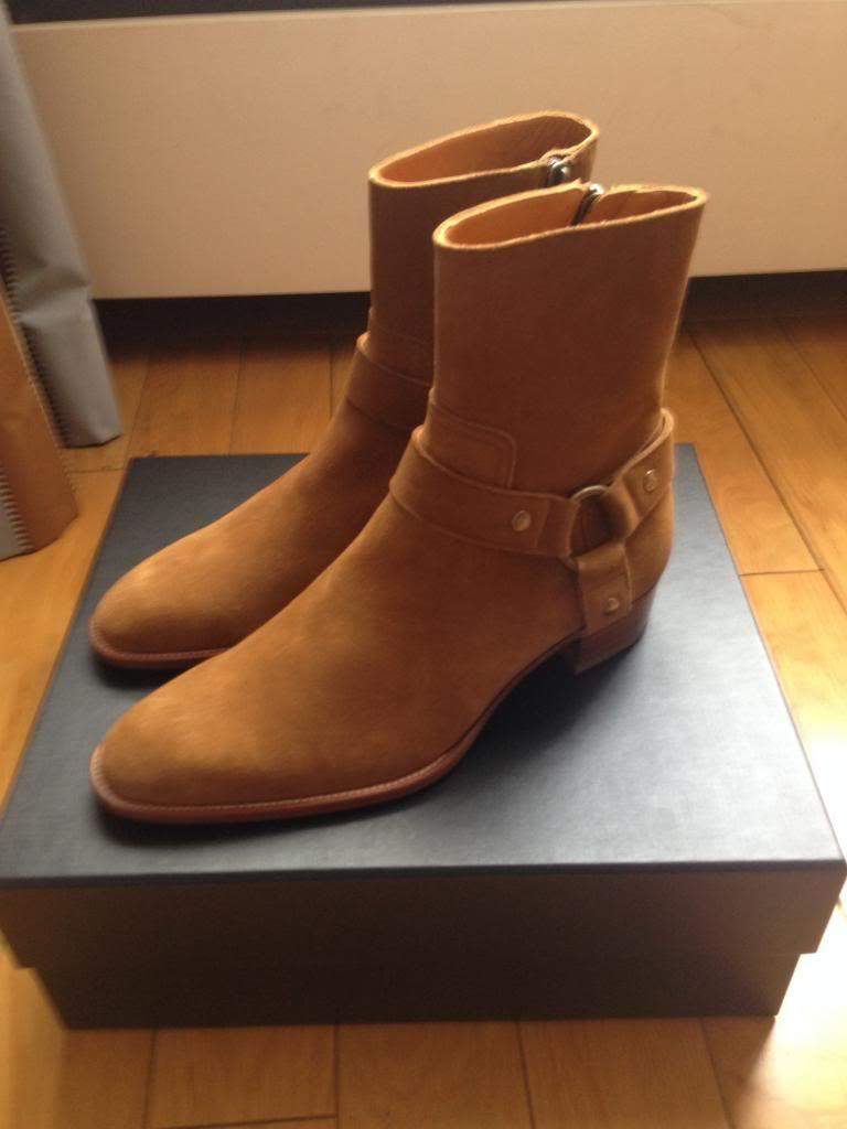 48464ecfbb2 saint laurent wyatt harness boot | Fauvist Western | Shoes, Boots ...