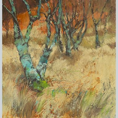 Sarah Bee Highland Trees with Licken