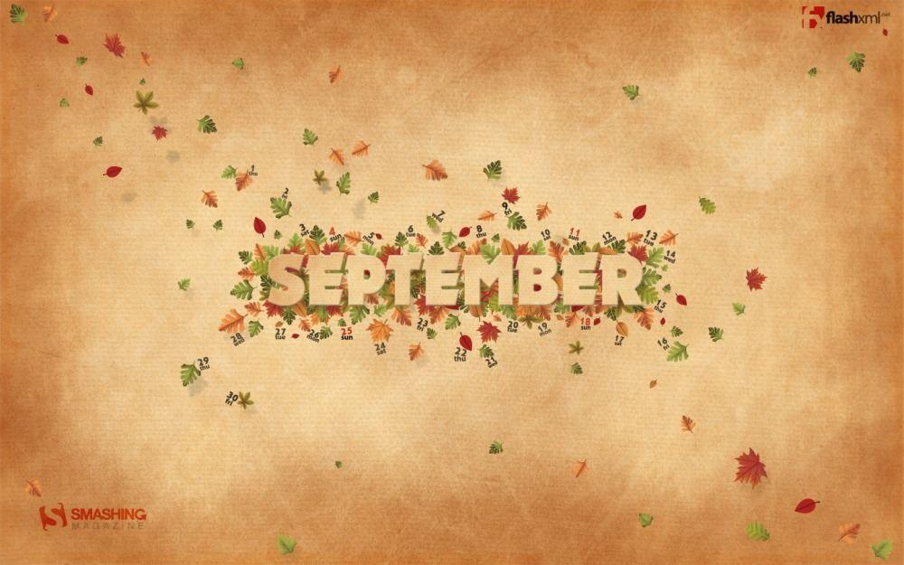 Desktop Wallpaper Calendar September 2011 September Images September Wallpaper Months In A Year