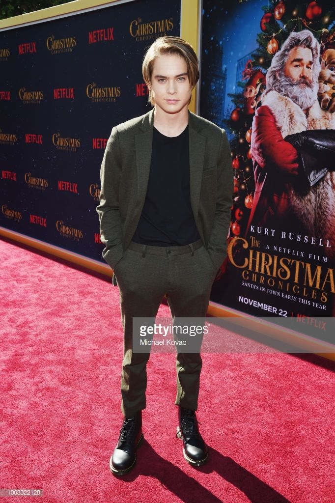 """Judah Lewis attends """"The Christmas Chronicles"""" Premiere on"""